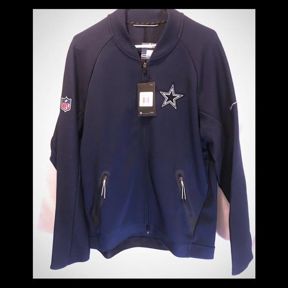 Nike Dallas Cowboys Coach Sideline Full Zip jacket 02ba2a656